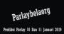 Prediksi Parlay 10 Dan 11 Januari 2018
