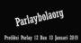 Prediksi Parlay 12 Dan 13 Januari 2019