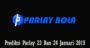 Prediksi Parlay 23 Dan 24 Januari 2019