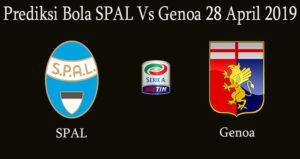 Prediksi Bola SPAL Vs Genoa 28 April 2019