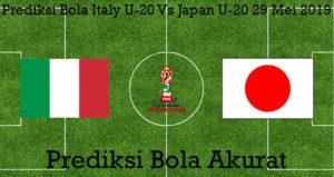 Prediksi Bola Italy U-20 Vs Japan U-20 29 Mei 2019