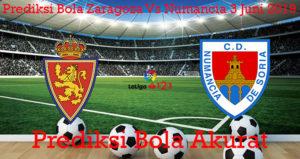 Prediksi Bola Zaragoza Vs Numancia 3 Juni 2019