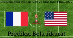 Prediksi Bola Prancis U20 Vs USA U20 4 Juni 2019