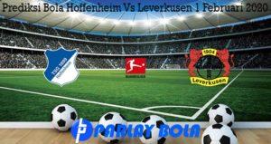Prediksi Bola Hoffenheim Vs Leverkusen 1 Februari 2020