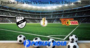 Prediksi Bola Verl Vs Union Berlin 6 Februari 2020