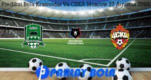 Prediksi Bola Krasnodar Vs CSKA Moscow 27 Agustus 2020
