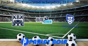 Prediksi Bola Kristiansund vs Sarpsborg 23 Agustus 2020
