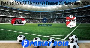 Prediksi Bola AZ Alkmaar Vs Emmen 23 November 2020