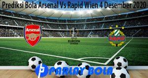 Prediksi Bola Arsenal Vs Rapid Wien 4 Desember 2020