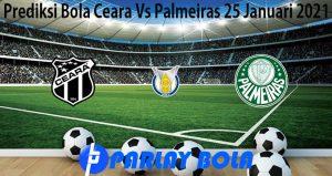 Prediksi Bola Ceara Vs Palmeiras 25 Januari 2021