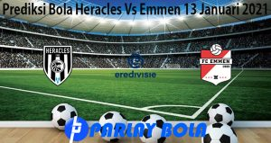 Prediksi Bola Heracles Vs Emmen 13 Januari 2021