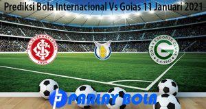 Prediksi Bola Internacional Vs Goias 11 Januari 2021