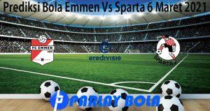 Prediksi Bola Emmen Vs Sparta 6 Maret 2021