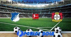 Prediksi Bola Hoffenheim Vs Leverkusen 13 April 2021