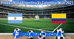 Prediksi Bola Argentina Vs Colombia 7 Juli 2021
