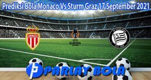 Prediksi Bola Monaco Vs Sturm Graz 17 September 2021
