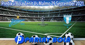 Prediksi Bola Zenit Vs Malmo 29 September 2021
